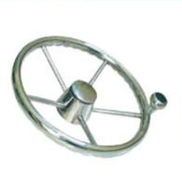 316 SS Steering Wheel with knob