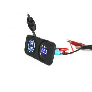 Voltage USB Panel Combination